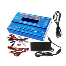 Factory Wholesale Original SKYRC IMAX B6 Digital RC Lipo NiMh Battery Balance Charger With AC POWER 12v 5A Adapter(China)