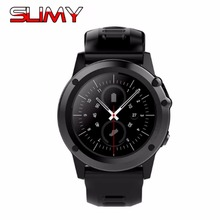 Slimy H1 Smart Watch IP68 Waterproof MTK6572 4GB 512MB 3G GPS Wifi Heart Rate Tracker For Android IOS Camera 500W PK KW88 Z10(China)