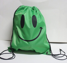 Face Drawstring Bag Mochila  Bags School bags For Girls And Boys Cartoon Kids Backpack Fashion