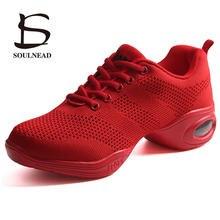 Nueva Marca suela suave modernos mujeres Zapatos de baile Zapatos aliento  deportes característica Hip Hop práctica f315b06958b
