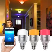 Original Xiaomi Mi Yeelight 9W E27 Smart Light Bulb WIFI Control LED For Phone