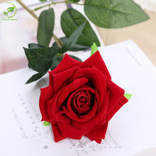Real Touch Rose Christmas Decorations For Home Silk Artificial Peony Wedding Decoration Marriage Decorative Flower Party Decor