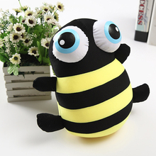 plush toys 2size large bees foam particles Rag Doll cartoon toys for kids gifts free shipping
