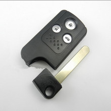 Replacement Blank Smart Card Shell For Honda Accord  SPIRIOR Smart Key Shell 3 Button with Groove  KEY BLADE