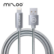 MIZOO Micro USB Cable 1M Mini USB Phone Cable Fast Charge Data Cable M-X25 2 IN 1 True Combo For Android And iOS iPad Air iPod