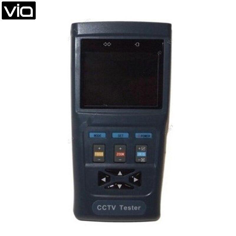 DT-V30 Free Shipping 2.8 Monitor CCTV Video Audio Surveillance PTZ Camera Tester Output 12V 1A ZOOM<br><br>Aliexpress