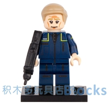 Single Sale Movie Star Trek Captain U.S.S. Enterprise SUPER HEROES AVENGERS minifig Model DIY Building Blocks Kids Toy Gift