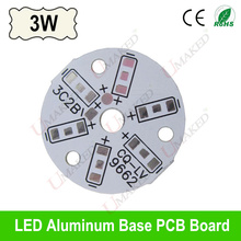 3W 32mm LED PCB for 5730 5630 leds, Heat sink board, 3W LED aluminium plate Base for bulib light, ceiling light