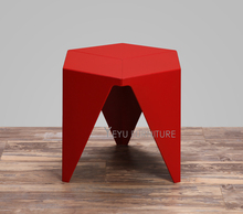 Minimalist Modern Design Plastic Low Small Side Table, Living Room End corner table, Kids Table, fashion Small Tea Table 1PC