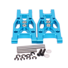 Front Lower Suspension Arm a-Arm For Rc Hobby Car 1/12 Wltoys L959 L969 L979 L202 L212 L222 K959 6061-T6 Off-Road Truck Aluminum(China)