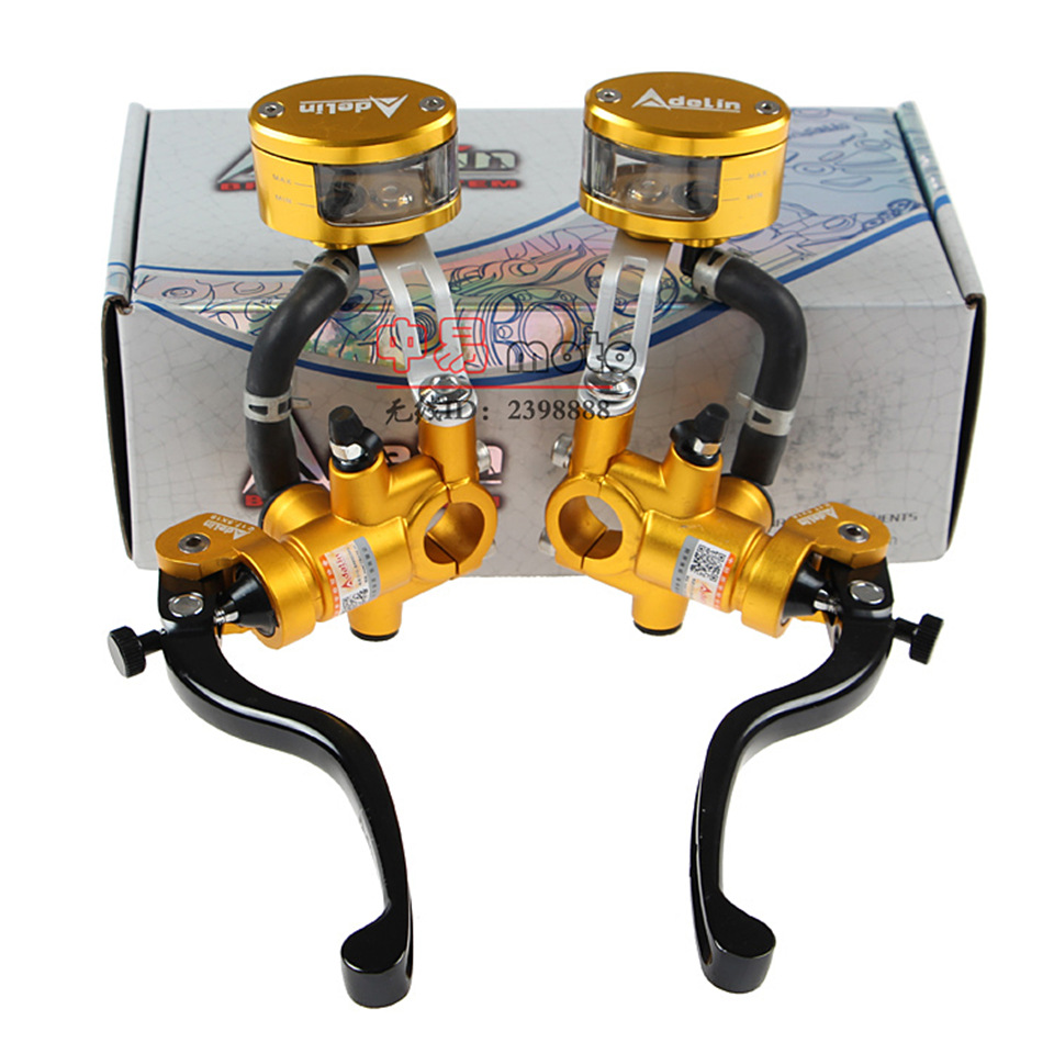 ADELIN motorcycle brake master cylinder Hydraulic 17.5x18mm New brake fluid reservoir tank FOR disk brake HONDA  YAMAHA KAWASAKI<br><br>Aliexpress