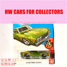 New Arrivals 2017 Hot 1:64 Car wheels 69 ford torino talladega Metal Diecast Cars Collection Kids Toys Vehicle For Children(China)