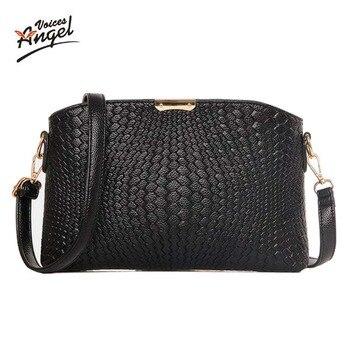 Women Bag 2016 Women Messenger Bags Small Wave Clutch Bags Handbags Women Famous Brands Designer Bolsa Feminina Mochila Black
