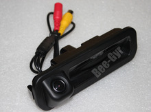 Car Rear View Camera for Ford Focus 2012 2013 rearview Review Backup Reverse Camera Review Reversing Parking Kit Free Shipping(China)
