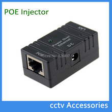 1 pcs Hot Passive PoE injector Splitter Wall Mount for Networking 10M/100M IP Camera  power adapter acer&adapter rj45