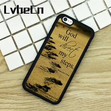 LvheCn TPU Phone Cases For iPhone 6S 7 8 Plus X 5 5S 5C SE 4S ipod touch 4 5 6 Cover Bible Verse Proverbs Christian Book Quote(China)