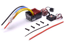 New Original Hobbywing QUICRUN Series 860 Waterproof Brushed ESC 60A with 5V/3A Linear Mode BEC for 1/8 RC Car(China)