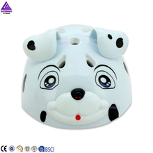 Suitable children sport helmet with cute dog design have ears EPS And PVC material skate helmet protective head cycling helmet