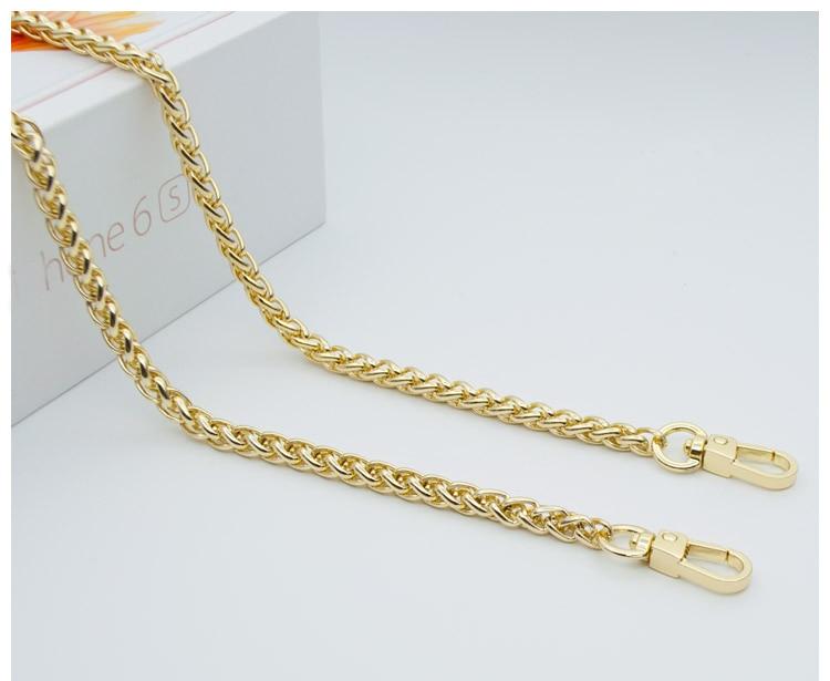 woman fashion bags accessory chain fashion new wallet accessroies chain handbag Solid Chain handle shoulder bag strap (5)