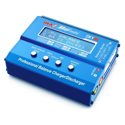 SKYRC IMAX B6 mini 60W Balance Charger Discharger for RC Helicopter nimh nicd Aircraft Intelligent Battery Charger<br>