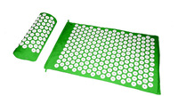 Back and Neck Pain Relief-Acupressure Mat and Pillow Set-Снимает Стресс, назад, шеи, and Sciatic Pain Massage