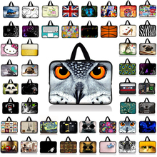 "Computer Bag Por 10 12 13 14"" 15"" 17"" 13.3 15.4 17.3 Inch Waterproof Notebook Laptop Bag Cases Tablet Sleeve Cover PC Handbag(China)"
