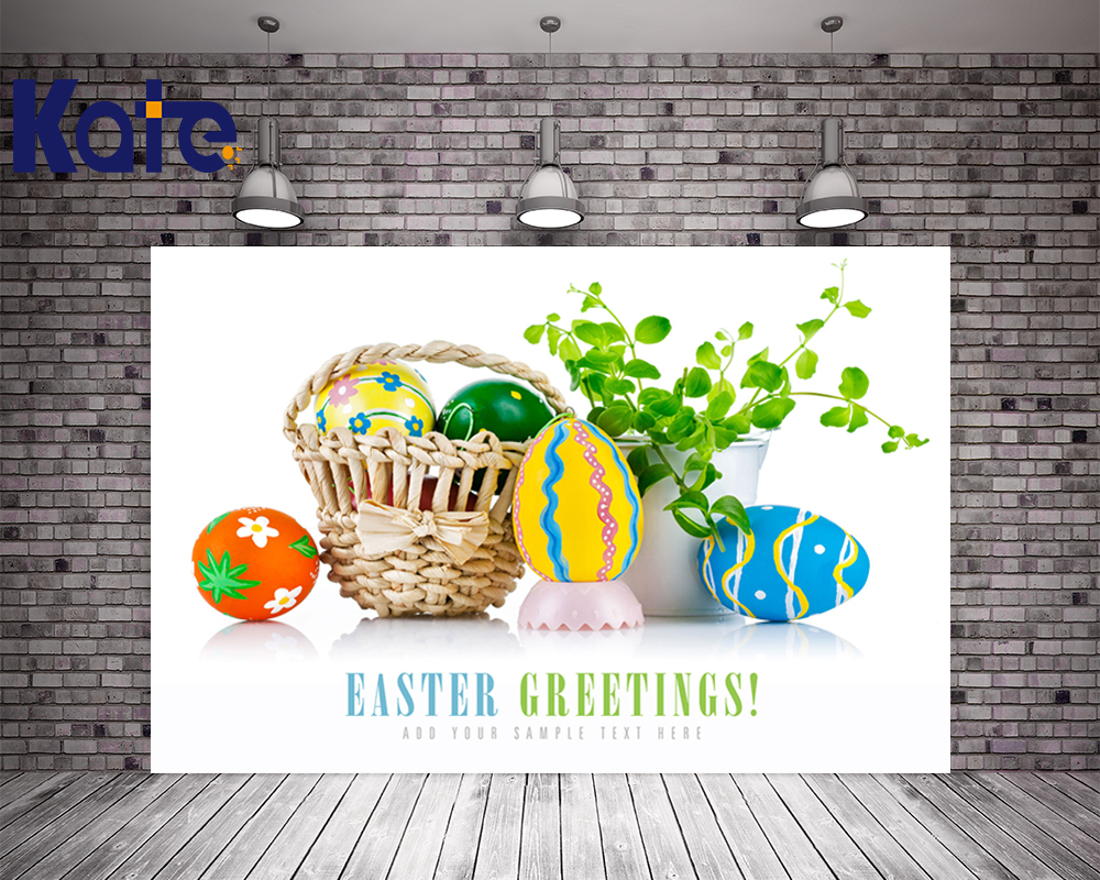 3M*3M(10*10Ft) Easter Photography Backdrops Letter Egg Green Leaves Photography Backdrops Photo Studio Easter Day Zj<br>