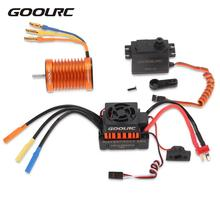 GoolRC RC Car Motor ESC F540 3000KV Waterproof Brushless Motor 45A ESC 6.0kg Metal Gear Servo Combo Set for RC Car 1:10 Parts(China)
