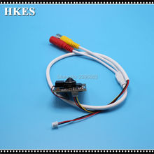 HKES New Product Mini AHD Video Camera module with 3.7 mm lens