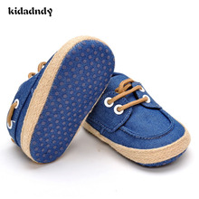 kidadndy Baby Boy Shoes Baby Moccasins Shoes Baby Mocassins Toddlers Single newborn Shoes 0 And 1 Year Old A16LL2(China)