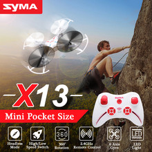Syma X13 Storm RC Drone 4CH 6 Axis Mini Quadcopter Remote Control Helicopter Aircraft Toys Mini Pocket Size Rc Plane Kids Gift