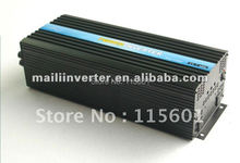 Home solar system , dc24 to ac 230v 5000w/5kw pure sine wave solar inverter ,CE&ROHS approved,free shipping(China)