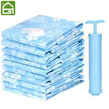 1 pc Vacuum Clothing Storage Bags Space Saver Seal Sacks Compressed for Blanket Clothes Duvets Pillows Travel Luggage