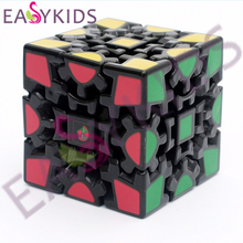 New X-cube 6cm 3x3x3 Gear Magic Cube 3D Puzzle Cubes Educational Toy Special Toys For Kids gifts(China)