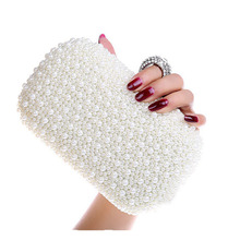 Fashion Knucklebox Beaded bag Women Heart-Shaped Evening Bag Gemstone Rings Handbag Party Clutch Chains Shoulder Bag Bolso H150