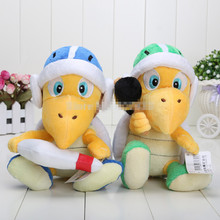 Super Mario Brothers Plush Toy 2X Koopa Troopa Hammer & Boomerang Boomerang plush toy retail 2pcs/lot 8'' 20cm