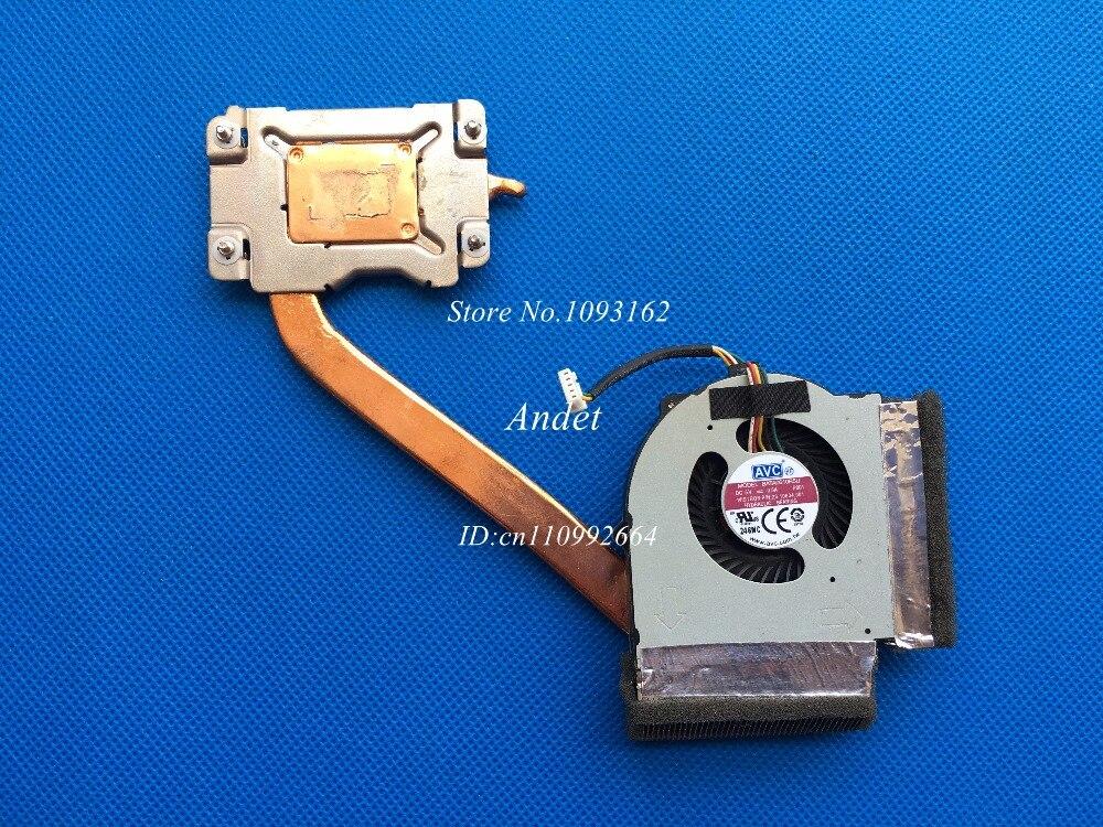 95% New Original Lenovo ThinkPad L430 L530 Heatsink CPU Cooler System Cooling Fan for UMA Integrated Graphics 04W3747 04W6891<br>
