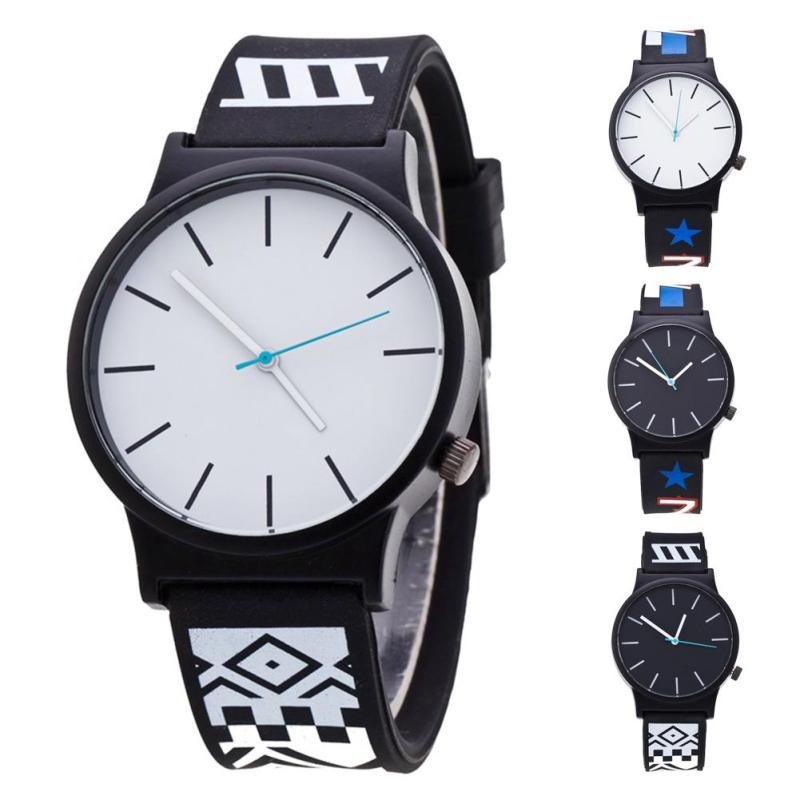 1pc men male student watches clock Sports Wristwatch Trendy Brief Casual Men Charm Quartz Watches  Chic leather analog gift H5<br><br>Aliexpress