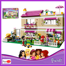 Bela 10164 compatiable with legoe Friends Olivia's House building bricks blocks Toys for children Girl Game Castle Gift 3315
