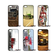 For Samsung Galaxy Note 2 3 4 5 S2 S3 S4 S5 MINI S6 S7 edge Active S8 Plus Amazing Peterbilt Trucks Fashion Cell Phone Case(China)