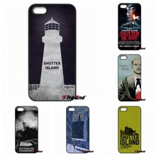 For iPhone 4 4S 5 5C SE 6 6S 7 Plus Samung Galaxy J5 J3 J7 A5 A3 S7 S6 Edge Top Fashion shutter Island poster Cell Phone Case