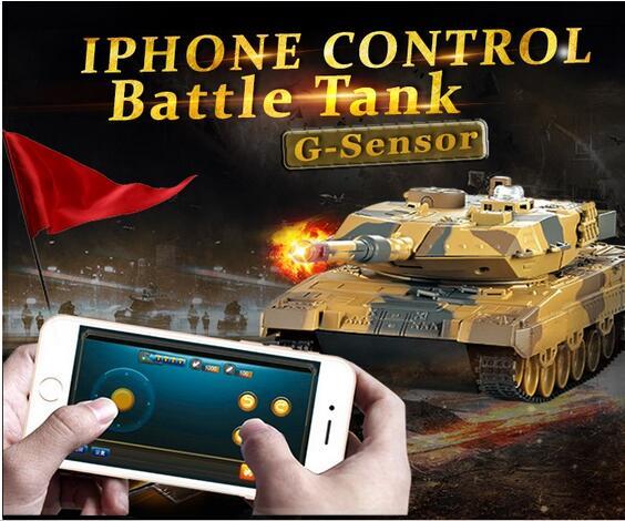 Wifi control millitary tanks HQ-H500 Phone Bluetooth control Gravity Sensor army battle tank model panzer war game toy vs TH11<br><br>Aliexpress