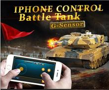 Wifi control millitary tanks HQ-H500 Phone Bluetooth control Gravity Sensor army battle tank model panzer war game toy vs HQ956(China)