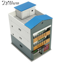 KiWarm Modern Outland Building Model N Scale Gauge 1/144 Scene Modern House Ornament Decoration Ideal Gifts(China)