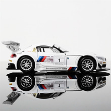 High-quality For BMW Z4 1: 32 alloy model car children's toys car Christmas gifts Pull Back Toys Car With Sound&Light(China)