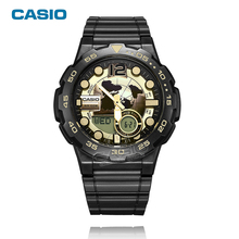 CASIO WATCH men 2017 Sport Quartz Top Brand Luxury Famous Fashion Wrist watch phone book 10 years of electricity AEQ-100W-1A