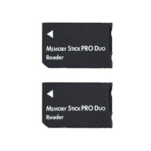 Top Sale SDHC TF to MS Pro Duo Card Adapter Converter Memory Stick Card Reader For PSP 1000 2000 3000