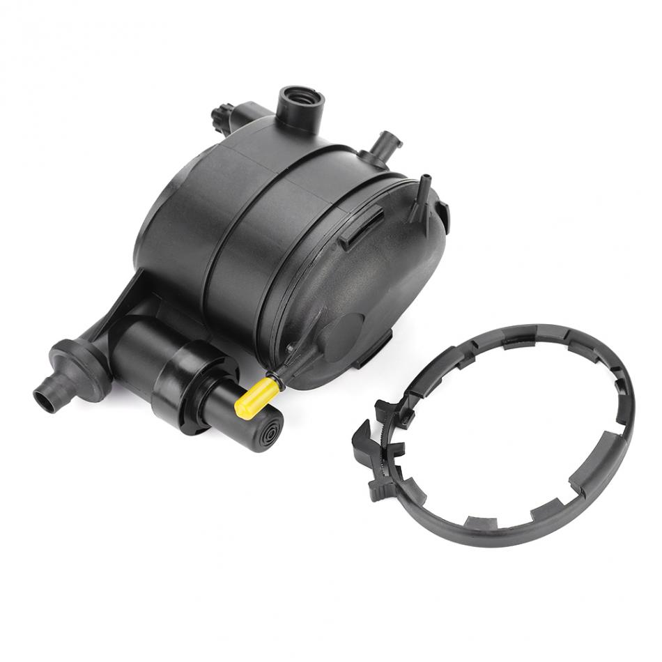 JIO-F filtre /à solvant 1X7 ou 1X13 pi/ège /à solvant de voiture POUR NAPA 4003 WIX 24003 Pi/ège de filtre /à carburant de voiture en alliage daluminium 1//2-28 ou 5//8-24 argent
