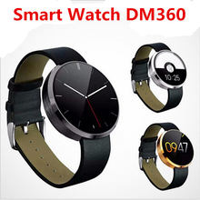 "DM360 MTK2502A 1.22"" Bluetooth Smart Watch Anti-Lost Sleep Heart Rate Monitor Handfree Speaker MIC Smartwatch For Android IOS"