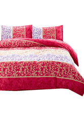 Reactive Printing BEDDING 4pcs Bedding Set duvet cover set queen king size QUILT COVER SET(China)